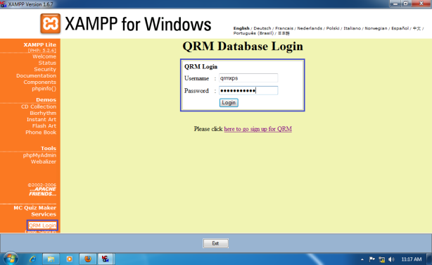 Install-Quiz-Result-Management-for-Win-7-x64-019