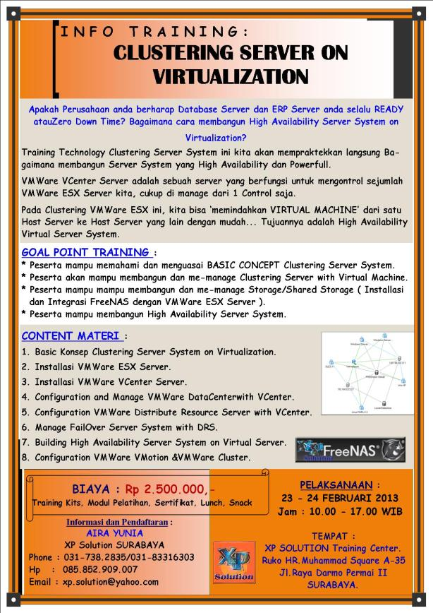 Brosur-Training-CLUSTERING-SERVER-ON-VIRTUALIZATION-23-24-Februari-2013