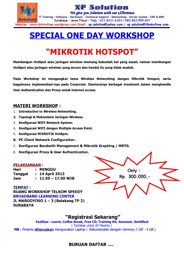 Special-One-Day-Workshop-Mikrotik-HOTSPOT-April-2013