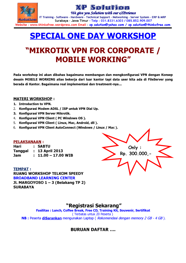 Special-One-Day-Workshop-Mikrotik-VPN-For-Corporate-Mobile-Working-April-2013