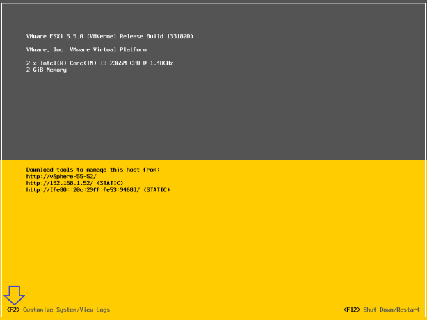 vSphere-5.5-Activate-SSH-and-CLI-001
